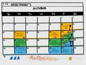 review calendar